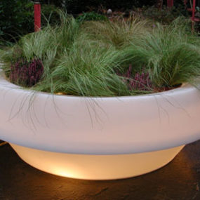Outdoor Lit Furniture by Designer Giuseppe Colonna Romano