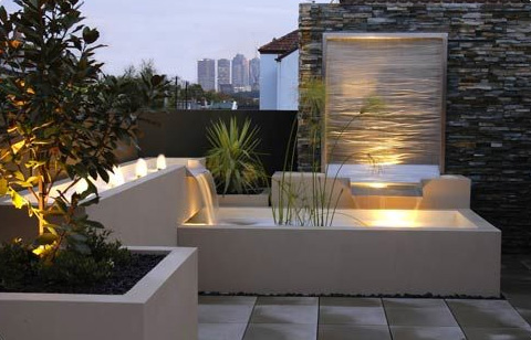 h2o designs rooftop landscaping 2