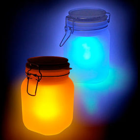 Jar Solar Powered Lamp