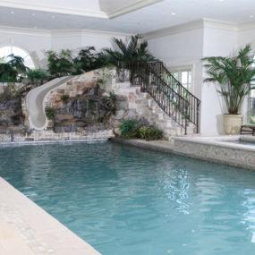 Indoor Pool – Italian Heritage Style