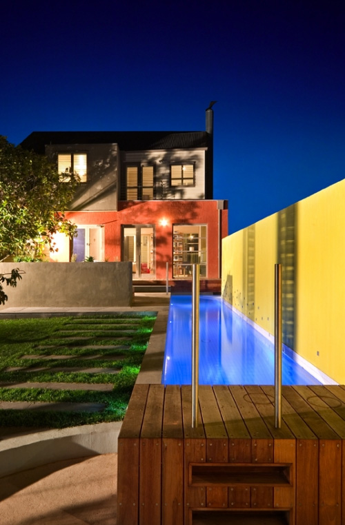 5 modern lap pool design ideas by out from the blue for Uses for old swimming pools