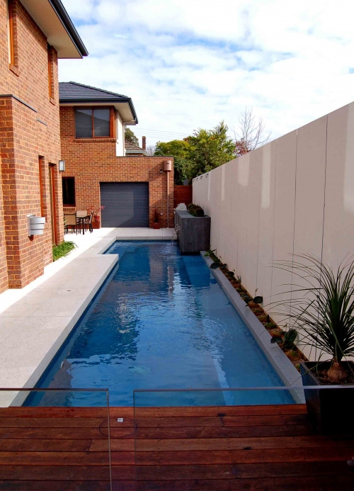 Home Lap Pool Design negative edge pool Lap Pool Design Ideas 07 2jpg