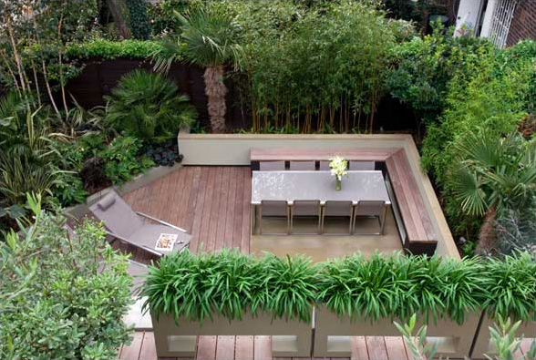 View In Gallery London Contemporary Garden Amir Schlezinger Top Design By Beautiful