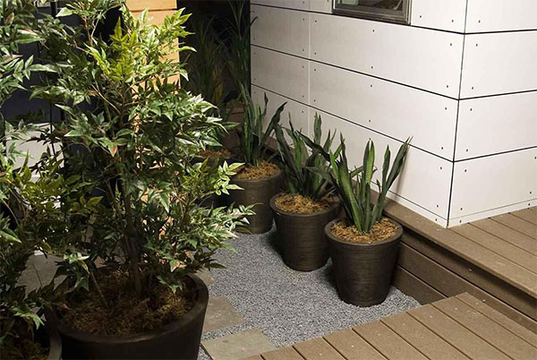 modern deck design ideas kelly planters