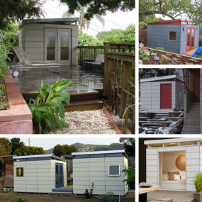 Prefab Shed Kits for a Modern Yard