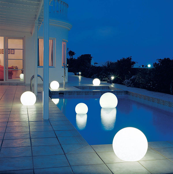 Outdoor moonlight globe light moonlight globe light whiteg aloadofball Gallery