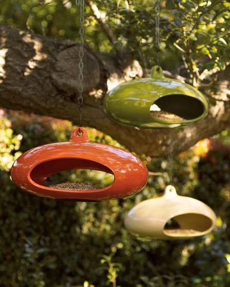 neiman marcus contemporary bird feeder Beautiful, contemporary bird feeder from Neiman Marcus