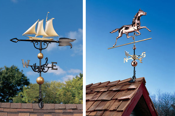 outdoor furniture plus copper weathervanes 1 Copper Weathervanes from Outdoor Furniture Plus