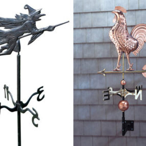 Copper Weathervanes from Outdoor Furniture Plus
