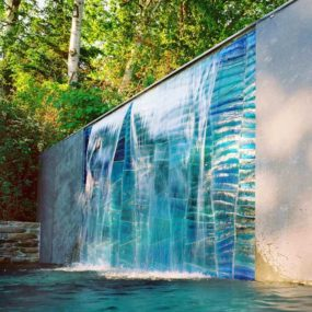 Outdoor Glass Art by SWON Design