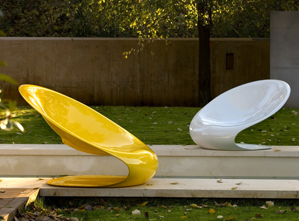 View In Gallery Owo Armchair Disk 1 Modern Outdoor Chair By Karim Rashid