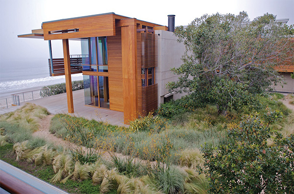 Sustainable landscape design by architect pamela burton for Sustainable garden design