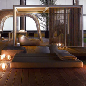 Contemporary Cabana by Paola Lenti – Cabanne