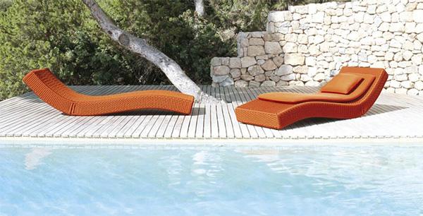 Außergewöhnlich Luxury Outdoor Lounger From Paola Lenti   Wave