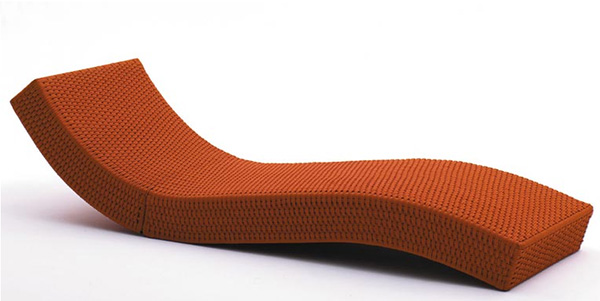 paola lenti outdoor lounge wave Luxury Outdoor Lounger from Paola Lenti   Wave