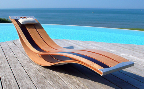 View In Gallery Poozdesign Lounge Chair Home 1 Elegant Outdoor Lounge Chairs  Flexible Wood Chairs By Pooz
