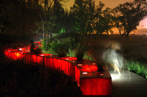 red ribbon tanghe river park china 3 Red Ribbon Tanghe River Park in China   eco friendly landscape architecture