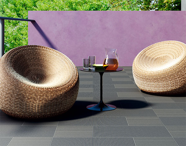 refin outdoor tile x stone patio installation Italian Outdoor Tile from Refin   the super strong X Stone
