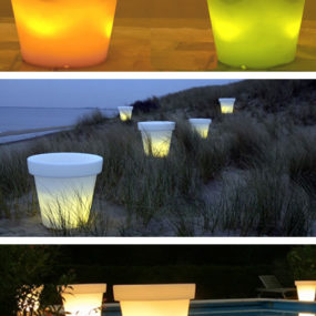 Bloom Light Pot by Designer Rob Slewe