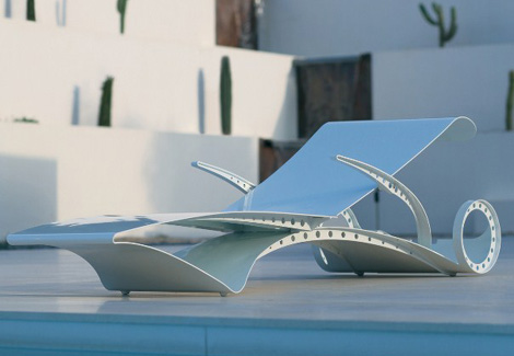 royal botania sun lounger d lux 1 Aluminium Sun Lounger D Lux by Royal Botania