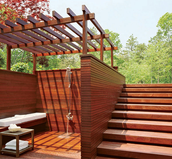 s russell groves interior and landscape design outdoor shower