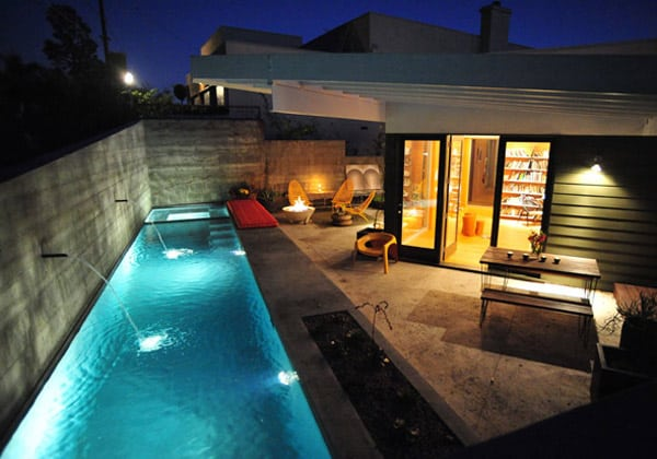 small backyard design pool idea bestor architecture 2