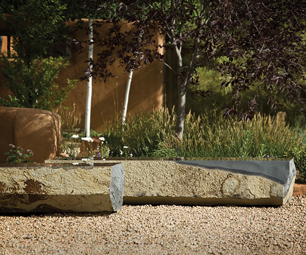 stone forest basalt bench Basalt Slab Benches from Stone Forest   new landscape sculpture collection