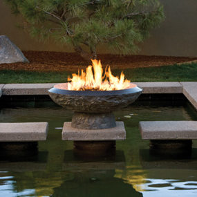 Granite Fire Pit from Stone Forest – new fire vessels and fire bowls collection
