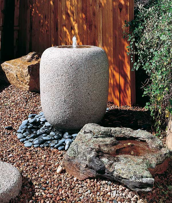 stone forest natsume basin Traditional Japanese Stone Basins from Stone Forest   garden basin collection
