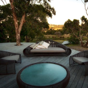 Sustainable, Drought Tolerant Garden Design with Natural Swimming Pool