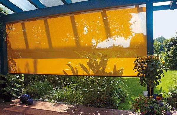 vertitex vertical awning VertiTex Vertical Awning from Weinor   award winning awning