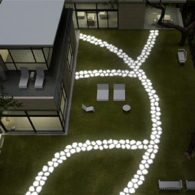 Walkover Lighting – Garden Pavement Lights by Serralunga