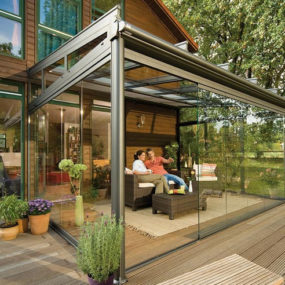 Glass Patio Rooms from Weinor – Glasoase