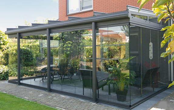 Cool House Designs Inside Glass Patio Rooms from...