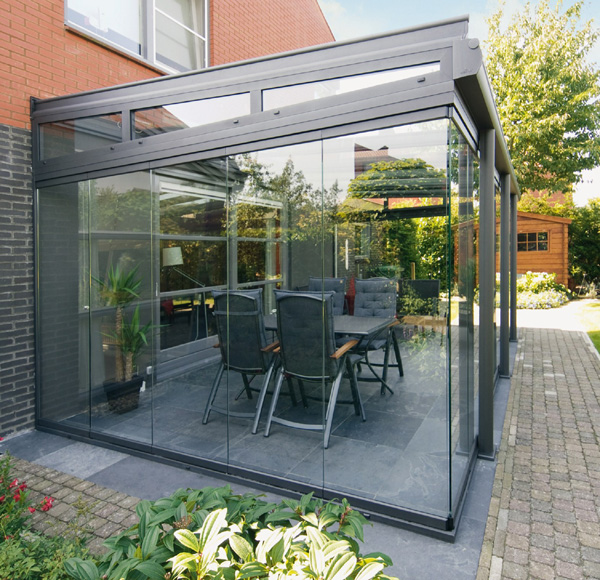Incroyable Weinor Glass Patio Glasoase 8