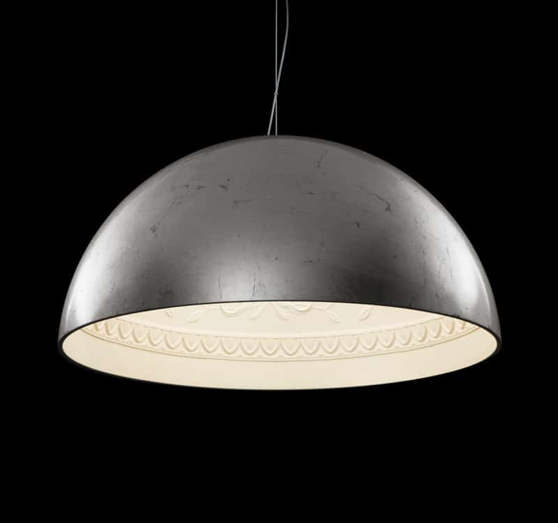 pendant oversized spherical large drum lamp lighting shade