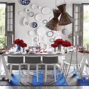 Paola Navone Collection at Crate and Barrel is a feast for your eyes!