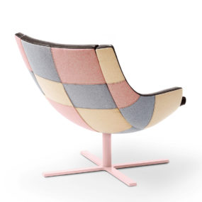 Patchwork Lounge Chair by Intertime