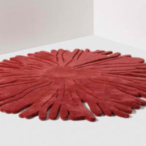 Red Designer Rugs by Nodus
