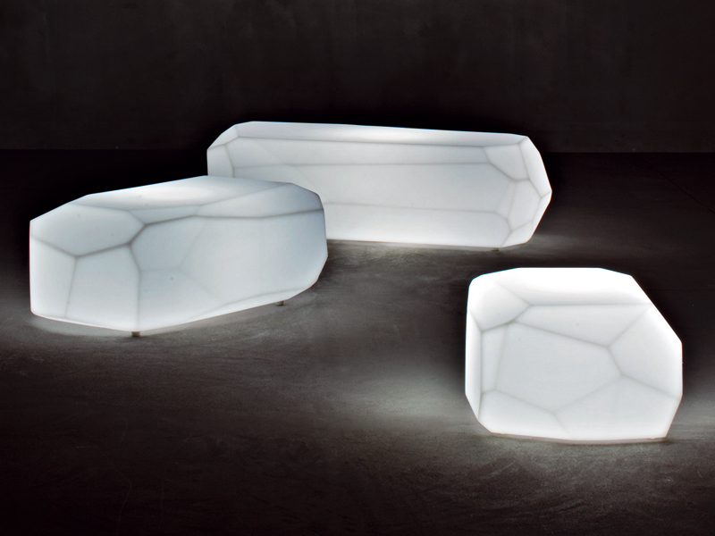 View In Gallery Translucent Polyethylene Seats Meteor Serralunga 4