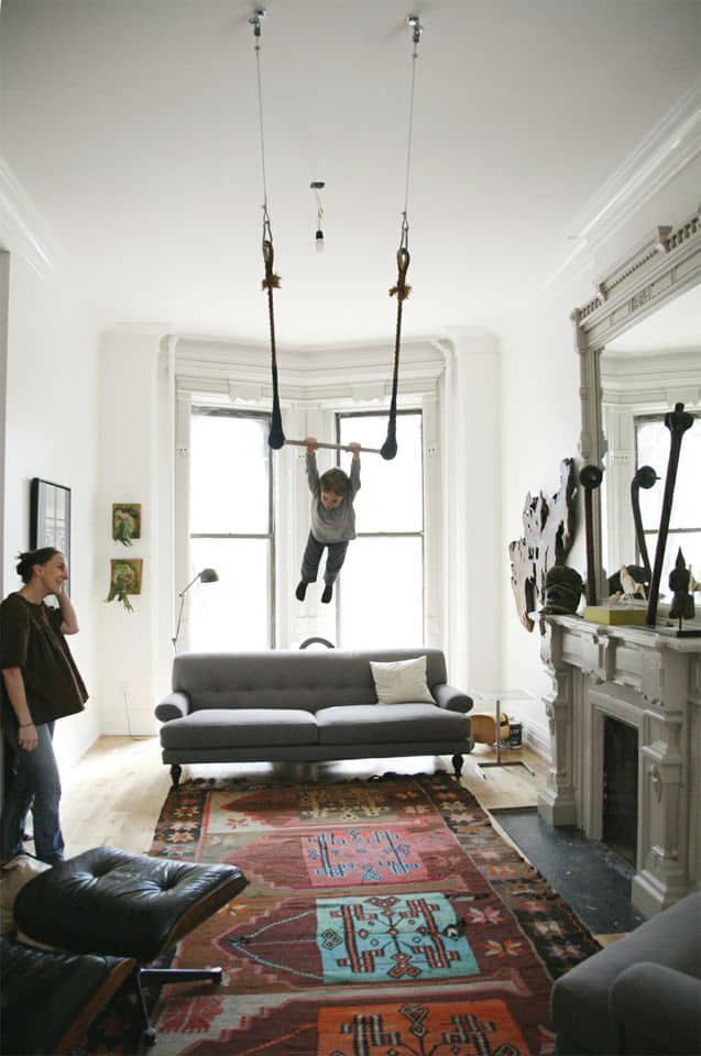 How To Hang Baby Swing From Ceiling Pranksenders