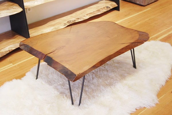 View In Gallery 5 Fabulous Rustic Wood Slab Coffee Tables