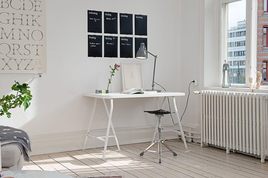 View In Gallery Trestle Desk Ideas Hot Trend 9 Alvhem