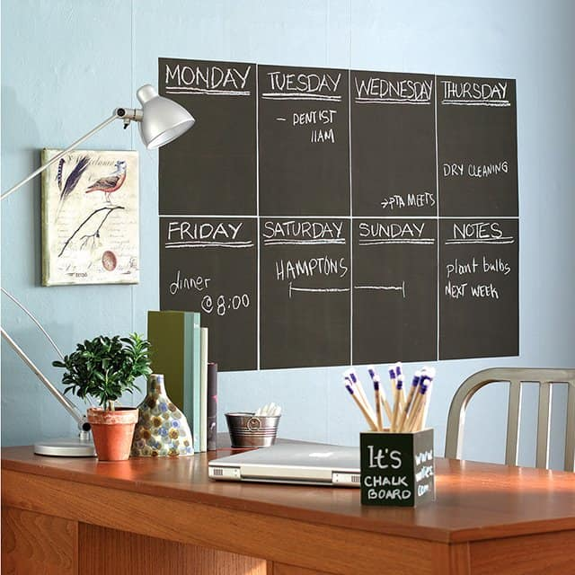 Chalkboard Wall Trend Comes To Modern Homes Inspirational Ideas