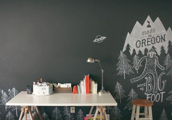 17s chalkboard office