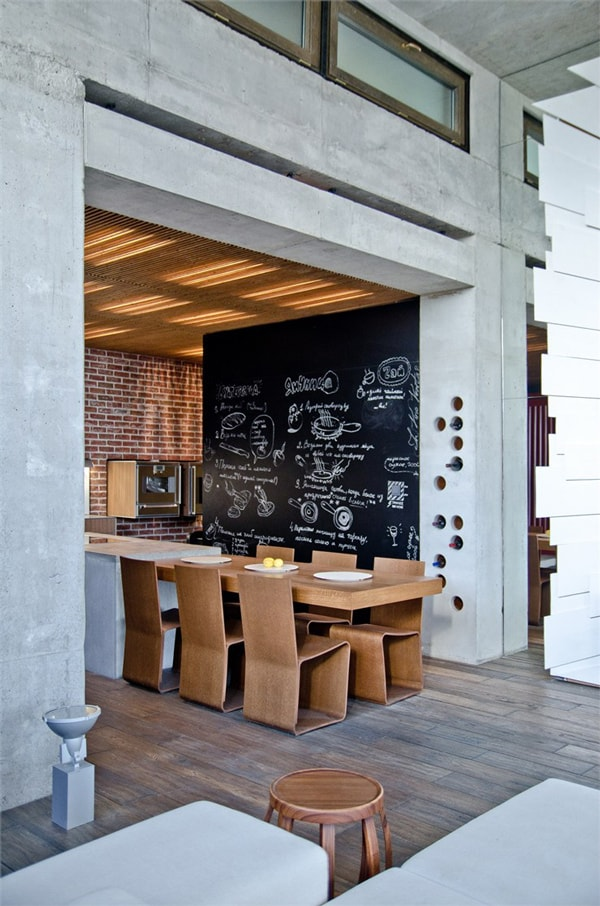 1s chalkboard kitchen Chalkboard Wall Trend Comes to Modern Homes: 38 Inspirational Ideas