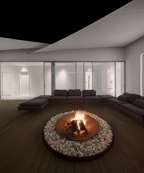 architectural ideas courtyard fire pit 1 7 Cool Patio Features I Found Today