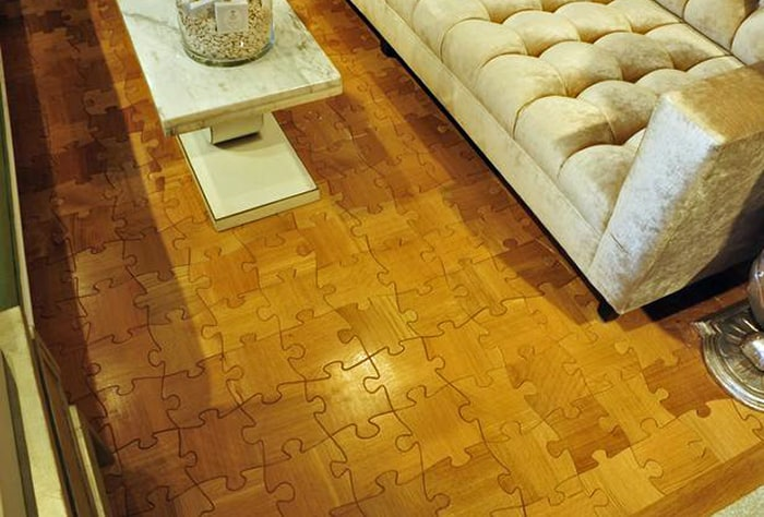 view in gallery amazing wood floors jigsaw puzzle floor 17jpg - Puzzle Wood Flooring