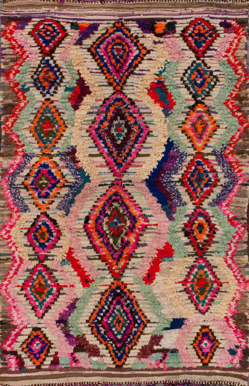 Moroccan Azayku Berber Multi Rug