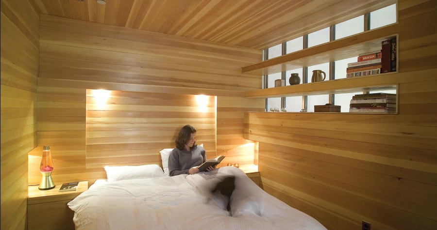 Captivating View In Gallery All Wood Bedroom Design